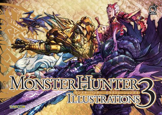 Monster Hunter Illustrations 3 Cover Image