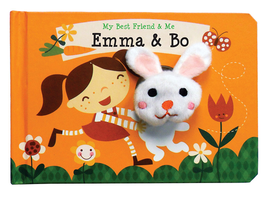 Emma & Bo Finger Puppet Book: My Best Friend & Me Finger Puppet Books Cover Image