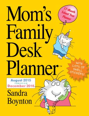 Cover for Mom's Family Desk Planner 2016