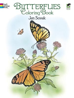 Butterflies Coloring Book (Dover Nature Coloring Book) Cover Image