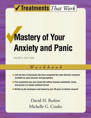 Mastery of Your Anxiety and Panic Cover