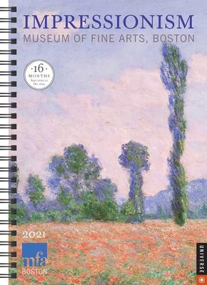 Impressionism 16-Month 2020-2021 Engagement Calendar Cover Image