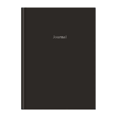 Black Hardcover Journal 6 X 8.5