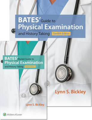 Bates' Guide 12e and Bates' Pocket Guide 8e Package Cover Image