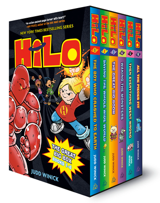Hilo: The Great Big Box (Books 1-6) Cover Image