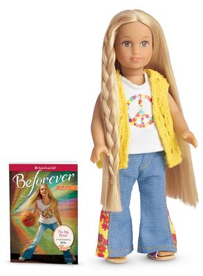 Julie Mini Doll & Book [With Mini Book] (American Girl) Cover Image