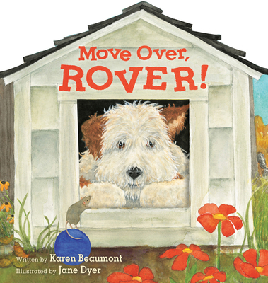 Move Over, Rover! (shaped board book) Cover Image