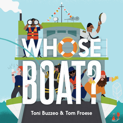 Whose Boat? (A Guess-the-Job Book) Cover Image