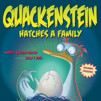 Cover for Quackenstein Hatches a Family