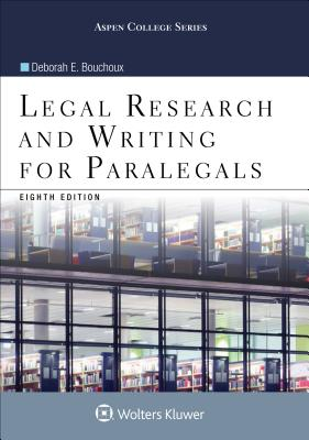 Legal Research and Writing for Paralegals (Aspen College) Cover Image