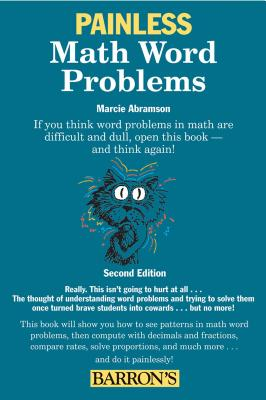 Painless Math Word Problems (Barron's Painless) Cover Image