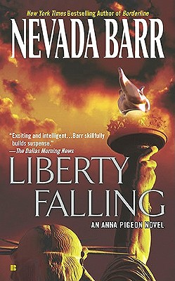 Liberty Falling (An Anna Pigeon Novel #7) Cover Image