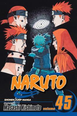 Naruto, Vol. 45 cover image
