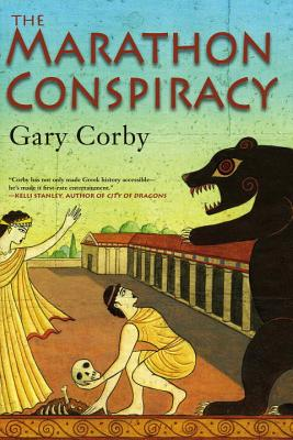 Cover for The Marathon Conspiracy (An Athenian Mystery #4)