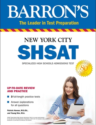 SHSAT: New York City Specialized High Schools Admissions Test (Barron's Test Prep) Cover Image