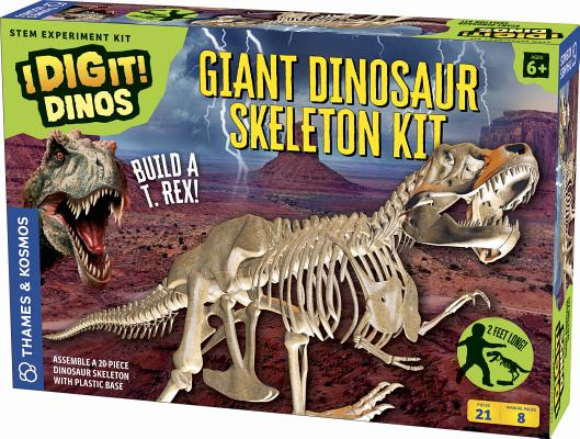 Giant Dinosaur Skeleton Kit Cover Image