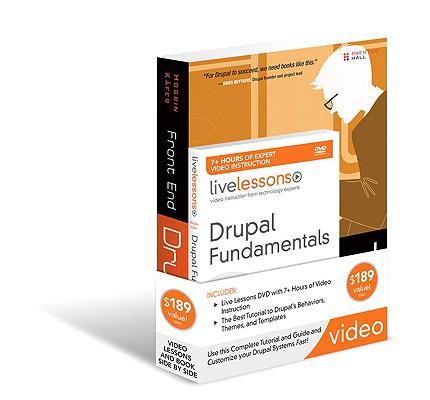 Drupal Fundamentals Livelesson Bundle Cover Image