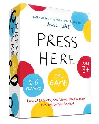Press Here Game: (Games for Kindergartners, Games for Toddlers, Creative Play for Kids) Cover Image
