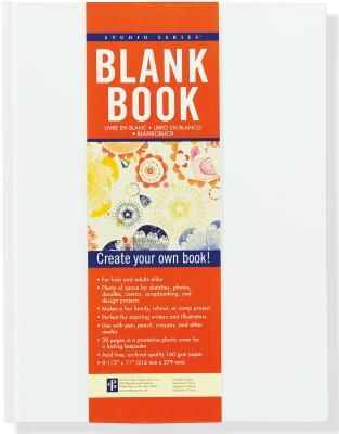 Studio Blank Book White Cover Image