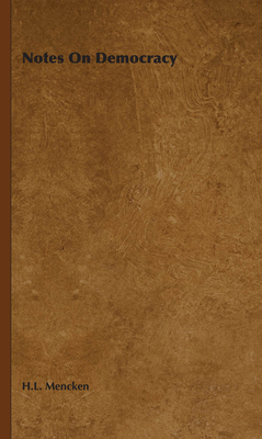 Notes on Democracy Cover Image
