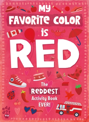 My Favorite Color Activity Book: Red Cover Image