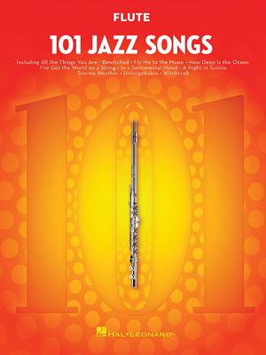 101 Jazz Songs for Flute Cover Image