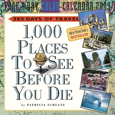 1,000 Places to See Before You Die Page-A-Day Calendar 2009 Cover Image