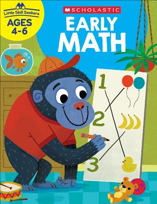 Little Skill Seekers: Early Math Workbook Cover Image