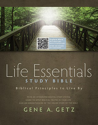 Life Essentials Study Bible-HCSB Cover