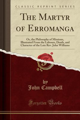 Cover for The Martyr of Erromanga