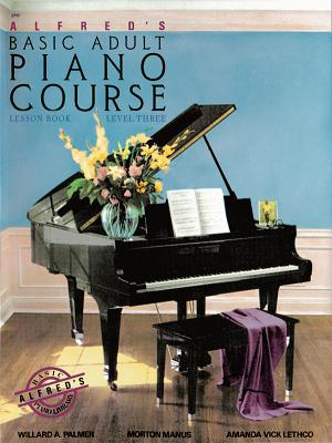 Alfred's Basic Adult Piano Course Lesson Book, Bk 3 Cover Image
