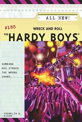 Wreck and Roll (Hardy Boys #185) Cover Image