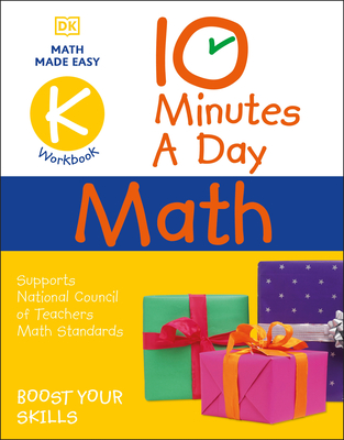 10 Minutes a Day Math Kindergarten: Helps develop strong math habits Cover Image