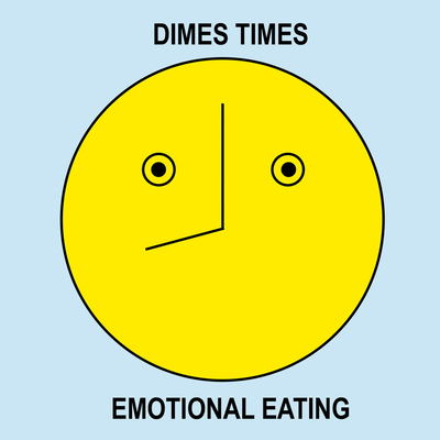 Dimes Times: Emotional Eating Cover Image