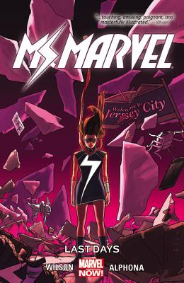 Cover of Ms. Marvel Last Days