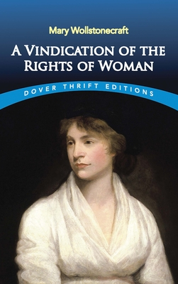 A Vindication of the Rights of Woman (Dover Thrift Editions) Cover Image