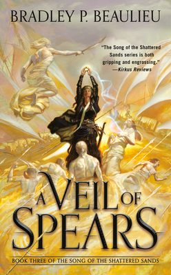A Veil of Spears (Song of Shattered Sands #3) Cover Image