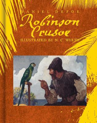 Robinson Crusoe (Scribner Classics) Cover Image