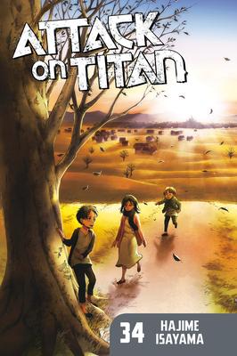 Attack on Titan 34 Cover Image