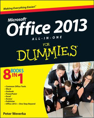 Office 2013 All-In-One for Dummies Cover