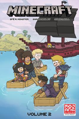 Minecraft Volume 2 (Graphic Novel) Cover Image