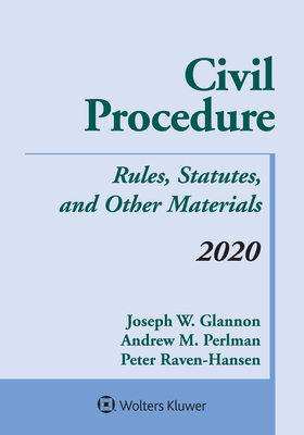 Civil Procedure: Rules, Statutes, and Other Materials, 2020 Supplement (Supplements) Cover Image