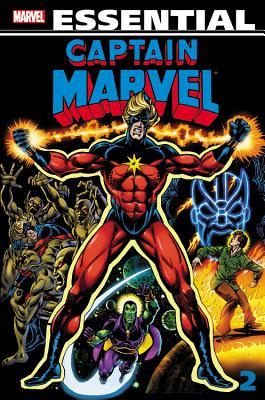 Essential Captain Marvel - Volume 2 Cover
