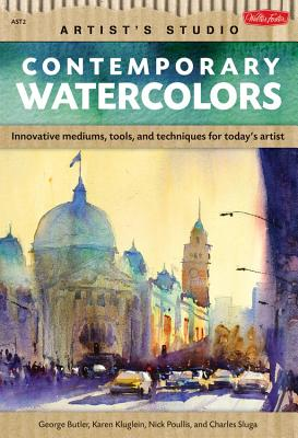 Contemporary Watercolors Cover