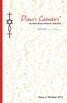 Diana's Calendars(TM): My Bible Study Notebook 2020-2021 Cover Image