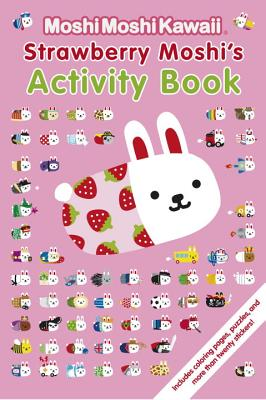 Strawberry Moshi's Activity Book Cover