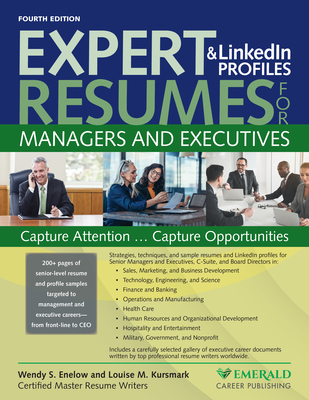 Expert Resumes and Linkedin Profiles for Managers & Executives Cover Image