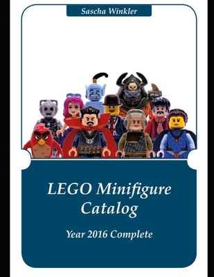 LEGO Minifigures Catalog Year 2016 Complete Cover Image