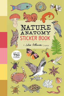 Cover for Nature Anatomy Sticker Book