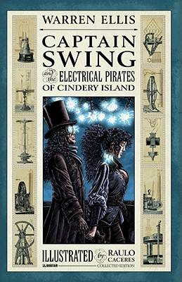 Captain Swing and the Electrical Pirates of Cindery Island Collected Edition Cover